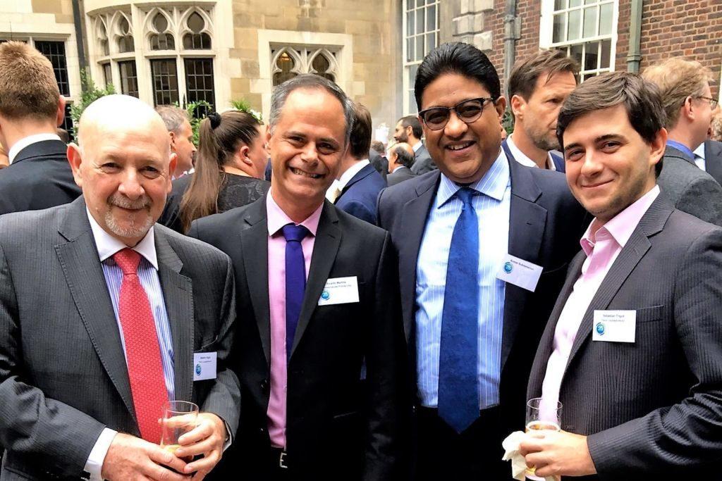 Beto Trigub, Ricardo Martins, Martin Kumar and Sebastian Trigub (photo by ITIC)